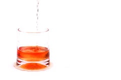 Whiskey cup Stock Photos