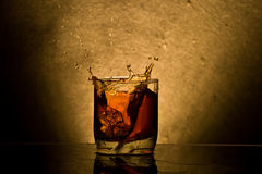 Whiskey de glace photos libres de droits