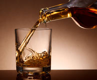 Whiskey de malt Photo stock