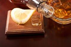 Whiskey de soirée Images libres de droits