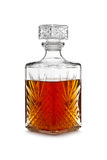 Whiskey decanter Royalty Free Stock Photos