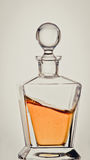 Whiskey in decanter Royalty Free Stock Photos