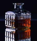 Whiskey decanter Royalty Free Stock Photos