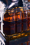 Whiskey decanter Royalty Free Stock Image