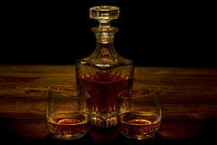 Whiskey Decanter Royalty Free Stock Photography