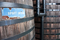 Whiskey distillery Stock Photography