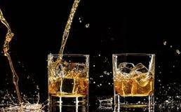 Whiskey drinks Royalty Free Stock Photos