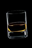 whiskey en verre Photos libres de droits