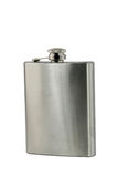 Whiskey flask Stock Images