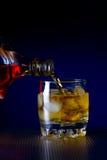 Whiskey glass Royalty Free Stock Photos