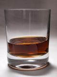 Whiskey in the glass Royalty Free Stock Photo