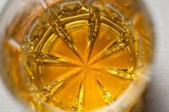 Whiskey glass close up Stock Image