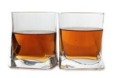 Whiskey glass cups Royalty Free Stock Photography
