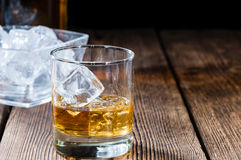 Whiskey in a glass Royalty Free Stock Image