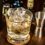 Whiskey Glass Royalty Free Stock Photography