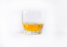 Whiskey. Glass of Whiskey. isolated on white.n royalty free stock image