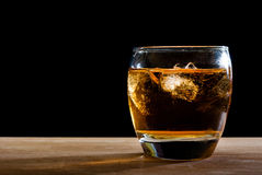 Whiskey glass Royalty Free Stock Images