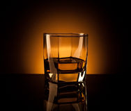Whiskey in glass Stock Image