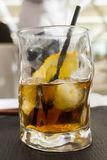 Whiskey glass Stock Photography