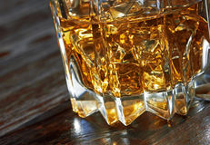 Whiskey in glasses Stock Photo