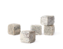 Whiskey granite stones composition Royalty Free Stock Photo
