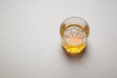 Whiskey on gray Stock Photo