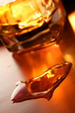 Whiskey Heart Stock Image