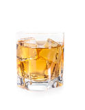 Whiskey and ice Royalty Free Stock Image