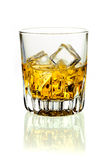 Whiskey on ice Royalty Free Stock Photo