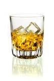Whiskey on ice Royalty Free Stock Photo