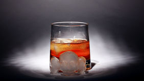Whiskey with ice alcohol Royalty Free Stock Images
