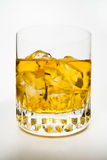 Whiskey and Ices Royalty Free Stock Photos