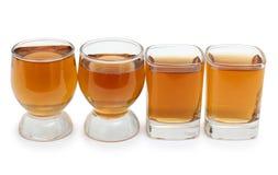 Whiskey kuper in royaltyfri bild