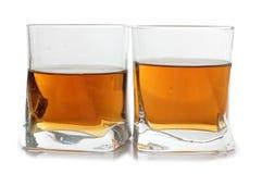 Whiskey kuper in arkivbild