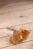 Whiskey and malt royalty free stock images