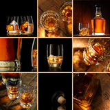 Whiskey mix Royalty Free Stock Photos
