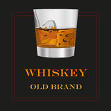 Whiskey old brand Royalty Free Stock Photography