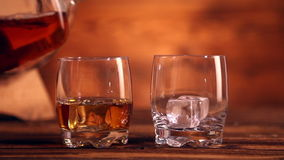 Whiskey stock video