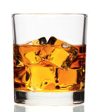 Whiskey on the rock Royalty Free Stock Photo