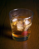 Whiskey on the rocks Royalty Free Stock Photos