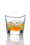 Whiskey on the rocks Stock Photography