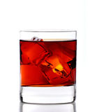 Whiskey on rocks Royalty Free Stock Photo