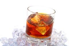 Whiskey on rocks Royalty Free Stock Photos