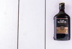 Whiskey from Scotland MacGregor Royalty Free Stock Photos