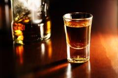 Whiskey shot Stock Images