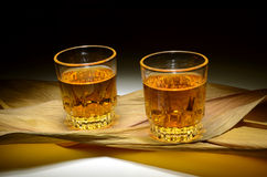 Whiskey shots Royalty Free Stock Image