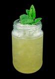 Whiskey smash drink Stock Images