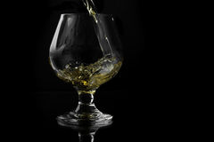 Whiskey in Snifter Stock Photos