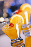 Whiskey Sour Cocktails Royalty Free Stock Photo
