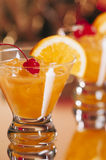 Whiskey Sour Cocktails Stock Image